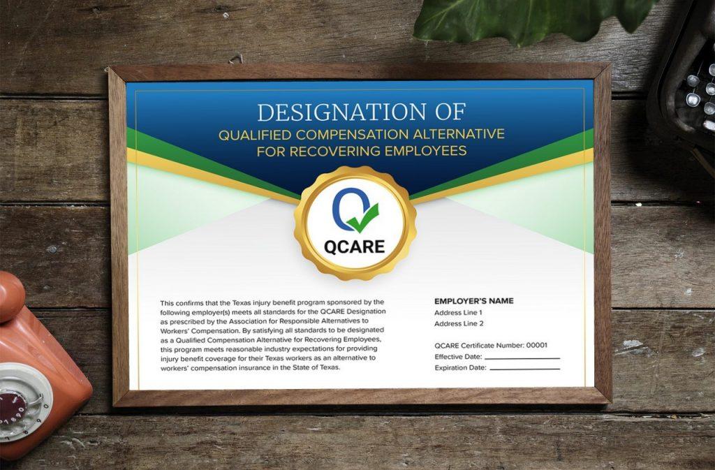 QCARE Certificate